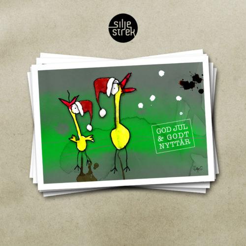 «To gode venner» (julekort)